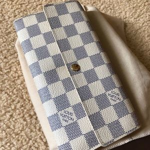 Louis vuitton wallet damier azur portefeuille